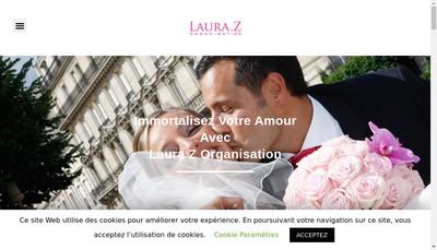 Site internet de Laura Z Organisation