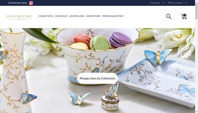 Site internet de Laure Selignac
