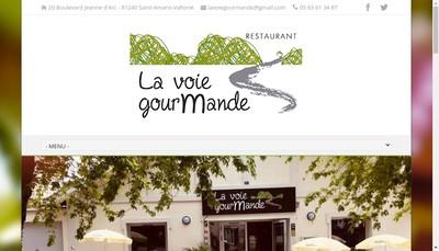 Site internet de La Voie Gourmande