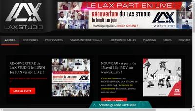 Site internet de Lax Studio