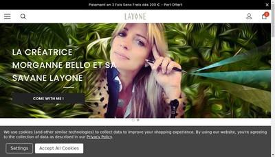 Site internet de Layone