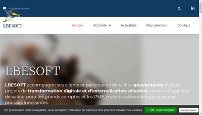 Site internet de Lbesoft