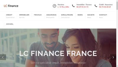 Site internet de Lc Finance