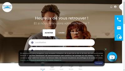 Site internet de A Deux Pas Immobilier