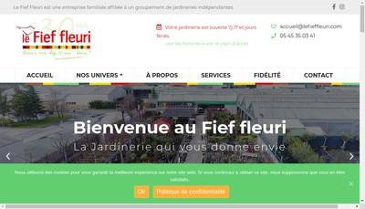 Site internet de SARL le Fief Fleuri