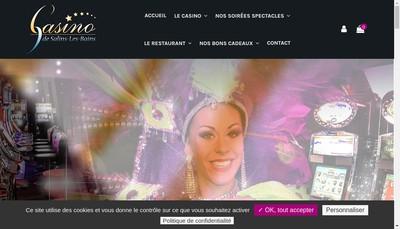 Site internet de SA Casino