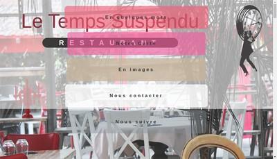 Site internet de Le Temps Suspendu