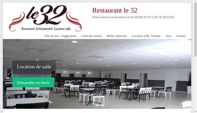 Site internet de Le 32