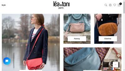 Site internet de Lea Toni