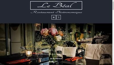Site internet de Le Beal