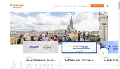 Site internet de leboncoin (leboncoin.fr)