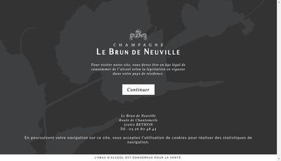 Site internet de Dite la Crayere
