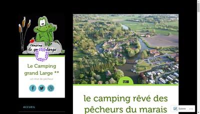 Site internet de Camping le Grand Large