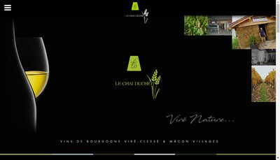 Site internet de Le Chai Duchet
