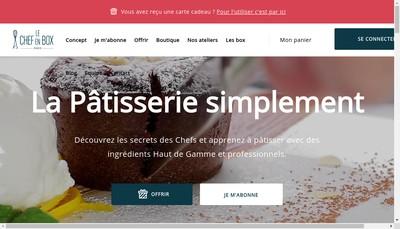 Site internet de Oui Chef