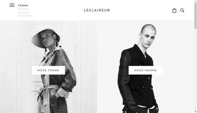 Site internet de L'Eclaireur