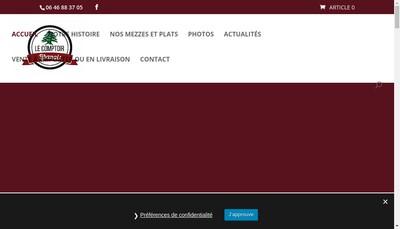 Site internet de Le Comptoir Libanais