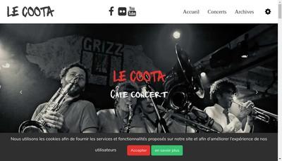 Site internet de Le Coota