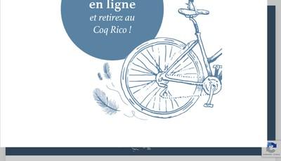 Site internet de Le Coq Rico