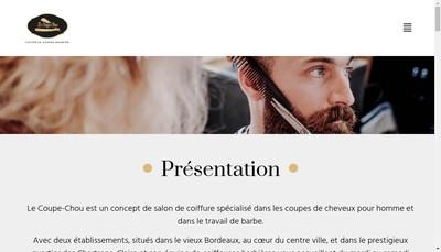 Site internet de Le Coupe-Chou