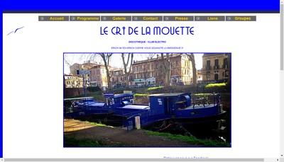 Site internet de Le Cri de la Mouette