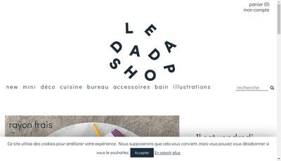 Site internet de Le Dadashop