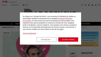 Site internet de Le Drenche