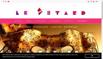 Site internet de Les Fetards