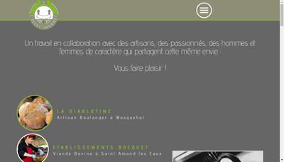 Site internet de La Filiere