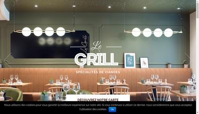 Site internet de Le Grill