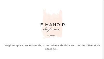 Site internet de Le Manoir du Prince