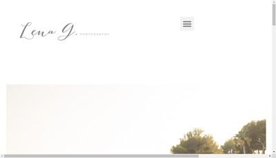 Site internet de Lena Geourjon