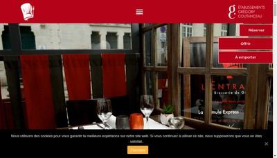 Site internet de L'Entracte