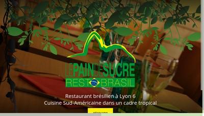 Site internet de La Pain de Sucre Restaurant Galerie