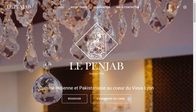 Site internet de Le Penjab