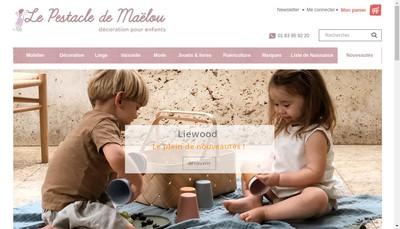 Site internet de Le Pestacle de Maelou