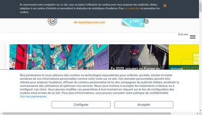 Site internet de Lepetitjournal Com