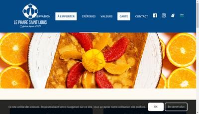 Site internet de Le Phare St Louis