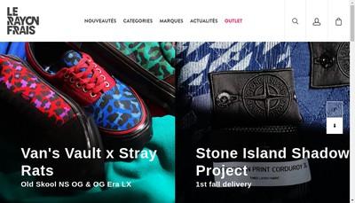 Site internet de Le Rayon Frais