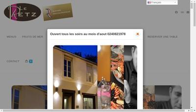 Site internet de Le Retz