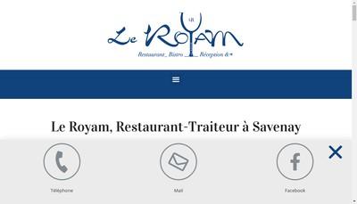 Site internet de Le Royam