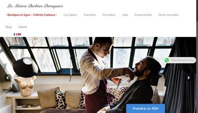 Site internet de Les Maitres Barbiers Perruquiers