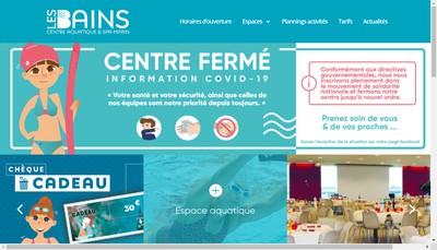 Site internet de Les Bains de Dieppe