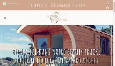 Site internet de Les Beautes Vagabondes
