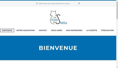 Site internet de Les Chats de Stella