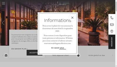 Site internet de Les Jardins du Prieure
