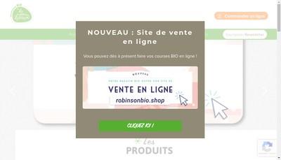 Site internet de Les Nouveaux Robinson