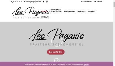 Site internet de Restaurabelle les Paganis