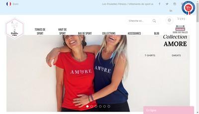 Site internet de Les Poulettes Fitness