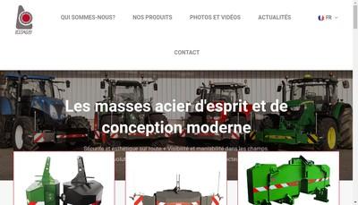 Site internet de Lestagri - Euromasse